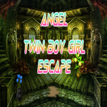 Angel Twin Boy Girl Escape